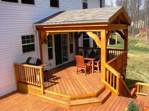 porch deck rustic screen porches columbus decks porches and patios