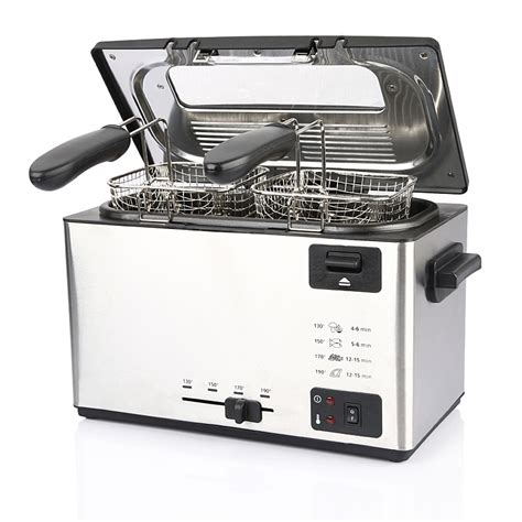 3l stainless steel electric turkey fryer for home use xj