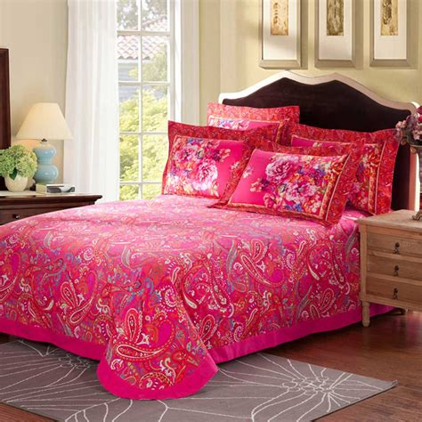 pink floral bedding charming light pink and black floral cotton bedding set
