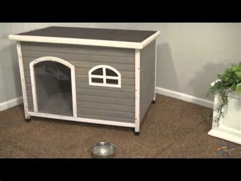insulated dog house reviews hound heater dog house furnace product review video doovi