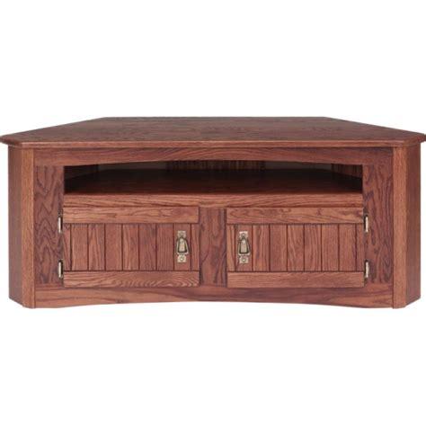 mission style corner tv cabinet solid oak mission style corner tv stand w cabinet 49