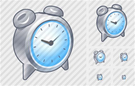 alarm clock icon xp artistic professional stock icon and free sets awicons