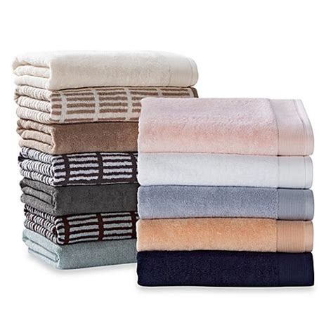 real simple bathroom real simple 174 bath sheet bed bath beyond