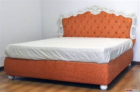 baroque bed frame baroque bed with buttoned headboard and storage box