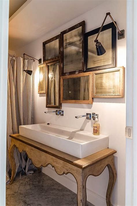 over the sink mirror mirror collage over sink a perfect gray decor pinterest