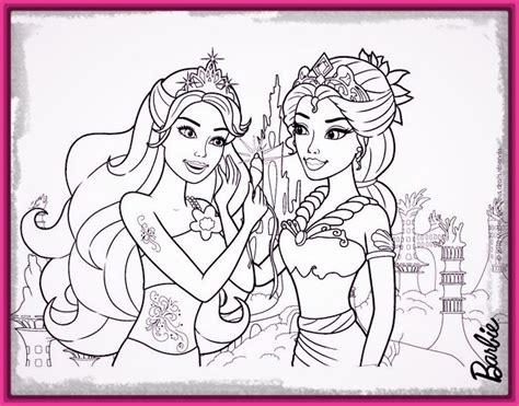 imagenes en blanco y negro dibujos dibujos para colorear de barbie princesa imagenes de barbie
