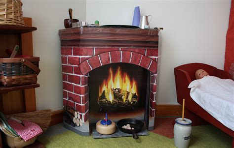 Cardboard Fireplace With Chimney by Cardboard Fireplace Blogged At Icewerks Icewerks Flickr