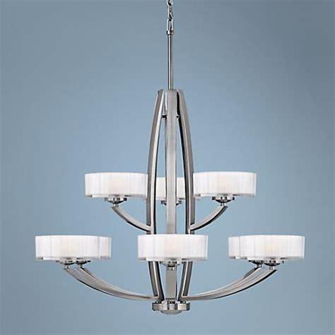Meridian Pendant Light Hinkley Meridian Collection 34 Quot Wide Nickel Pendant Light V3916 Ls Plus