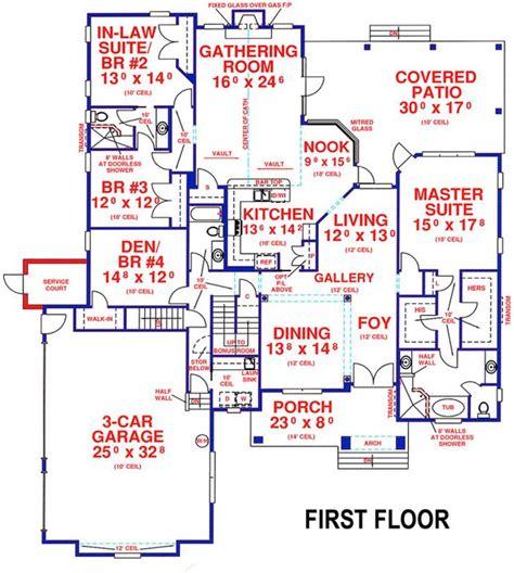 5 bedroom 4 bath southern house plan alp 099t