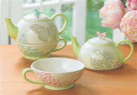 20 Top Stylish And 7 cute and cool tea for one sets design swan