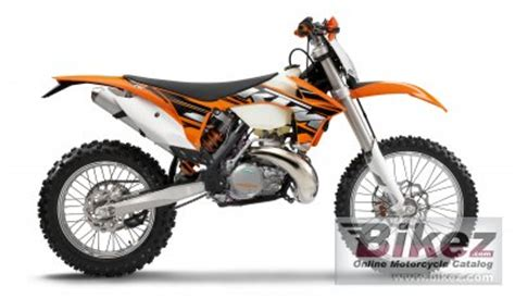 2013 Ktm 300 Exc 2013 Ktm 300 Exc Specifications And Pictures