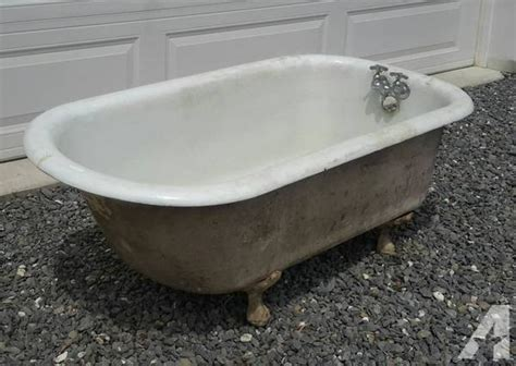 vintage bathtubs for sale antique ball foot cast iron tub for sale in lehighton