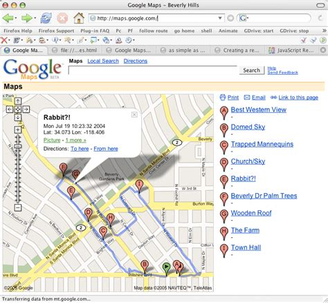 google beverly hills google mapping