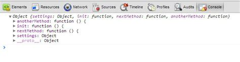 js module pattern init javascript this in different contexts impressive webs