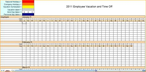 Backup Schedule Calendar Template monthly employee schedule template excel employee schedule