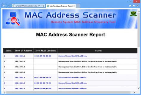 ip software mac mac address scanner 4 0 ดาวน โหลดโปรแกรมฟร