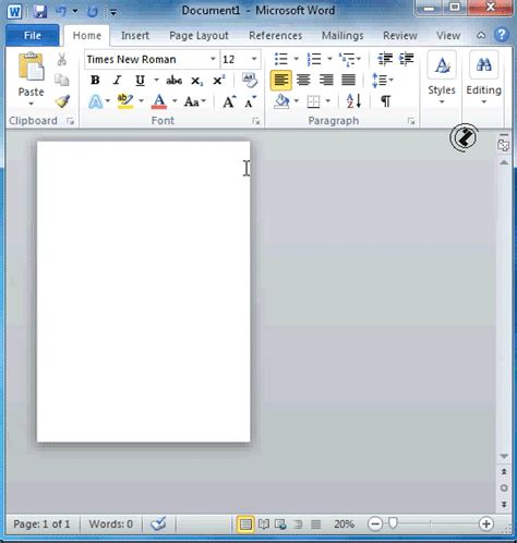 page layout view word 2010 word 2010 page setup page size page setup dialogue