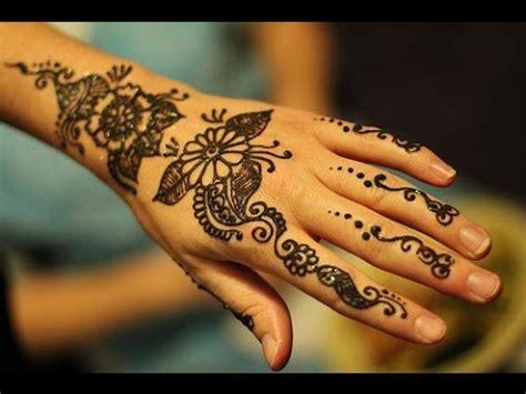 imagenes de tatuajes de jena como hacer tatuajes de henna tutorial youtube