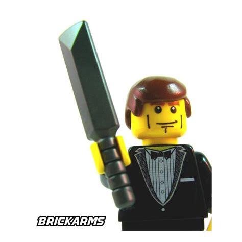 Brickforge Weapon Lancer batte de cricke gris metal brickarms