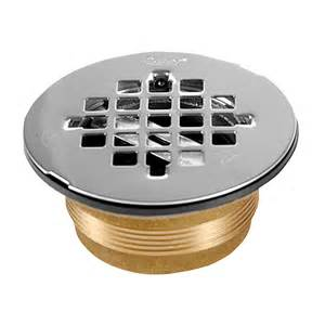 shop oatey brass shower drain at lowes