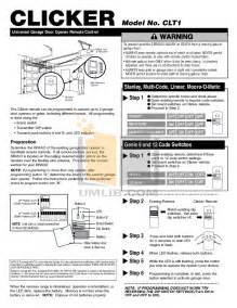free pdf for chamberlain liftmaster 1255 2r