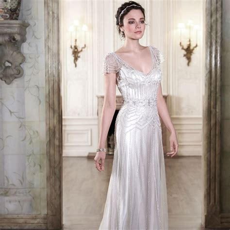 Vintage Style 1920s Wedding Dresses by 1920 S Style Wedding Dresses For Vintage Wedding