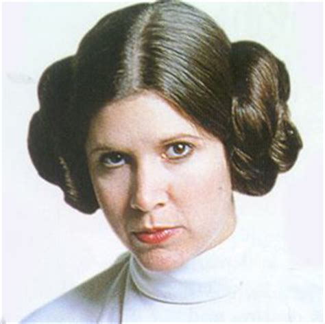 general hairstyles star wars was princess leia s hair natural from carrie