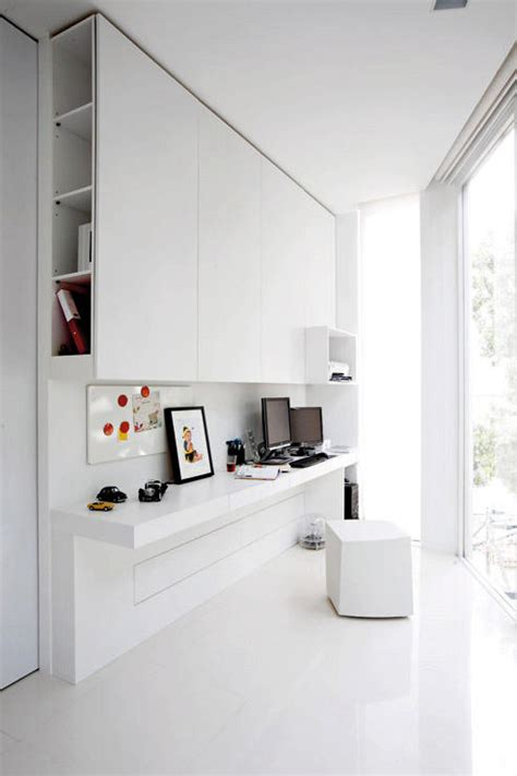 Minimalist Bedroom Office 10 Minimalist Home Offices To Inspire Decordove