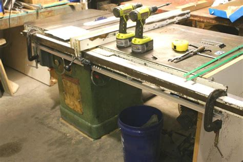 table saw reviews woodworking add a dro to a table saw product reviews wood talk