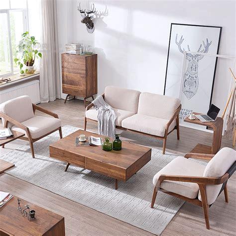 Sofa Sederhana 2016 scandinavian living room furniture fabric single seater wood sofa chairs buy single