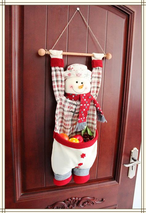 aliexpress com buy christmas figurine hanging snowman