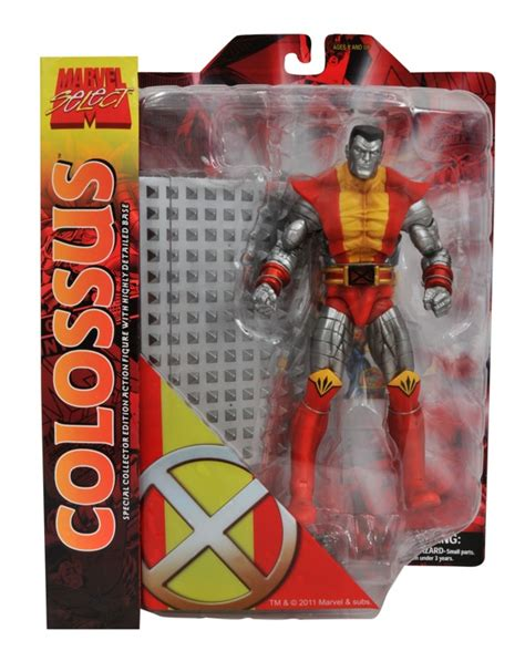 Colossus Marvel Select Toys Figure marvel select colossus figure 8 quot raccoongames es