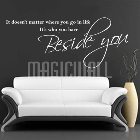 Wallsticker Sepeda I You wall decals beside you wall quotes wall stickers