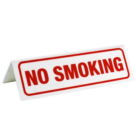 no smoking sign for table no smoking table sign barmans co uk