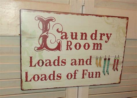 signs home decor laundry room tin metal sign wall decor fun sign home