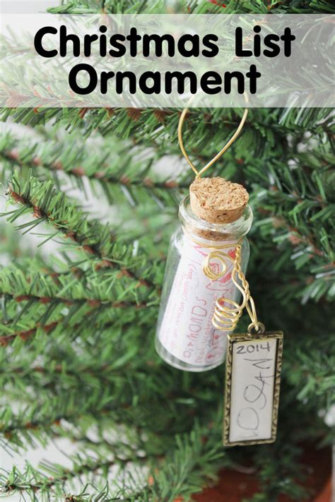 christmas wish list ornament diy mom it forward