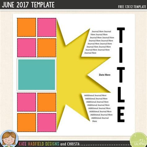 free scrapbooking templates to 1553 best digital scrapbooking printables images on