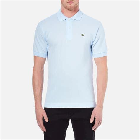 Kaos Polos Lacoste Colbus Uk M lacoste s polo shirt baby blue clothing thehut