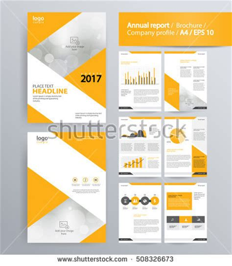 company page template company profile template stock images royalty free images