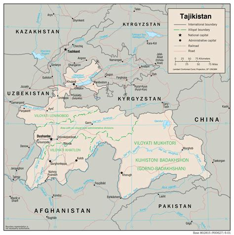 where is tajikistan on a map tajikistan maps perry casta 241 eda map collection ut