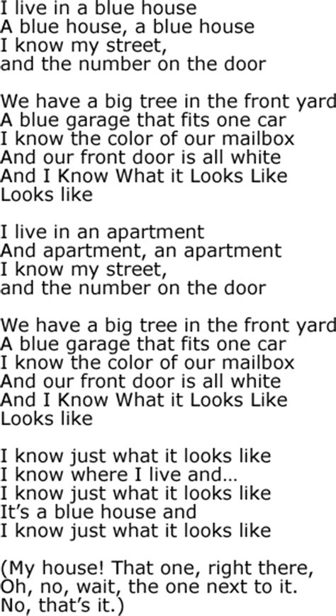 The Apartment Lyrics I What It Looks Like Song Lyrics And Sound Clip
