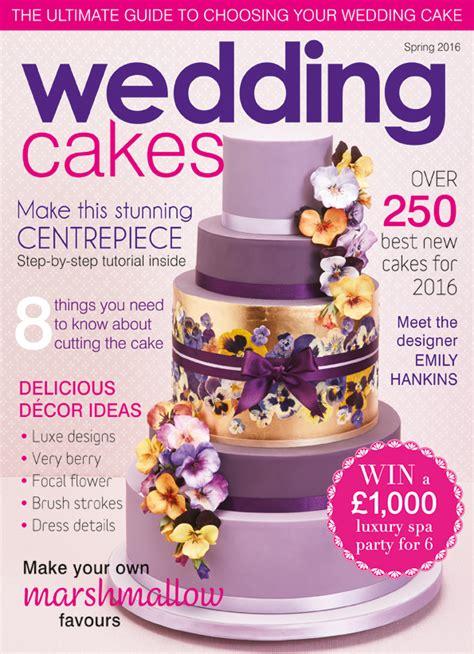Wedding Magazines 2016 by Morningside Bakes Bespoke Wedding Cakes Based In