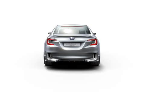 subaru car back 2015 subaru legacy concept rear the wheel
