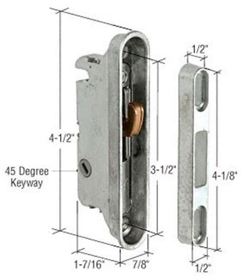 Patio Door Mortise Lock Replacement Sliding Glass Door Locks Can Be Replaced Heres How