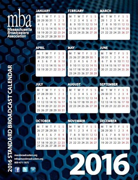 Umass Mba Calendar by Broadcast Calendar Massachusetts Broadcasters Association