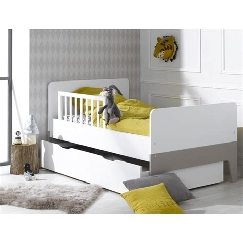 extendable toddler bed city extendable kids toddler bed in white linen buy