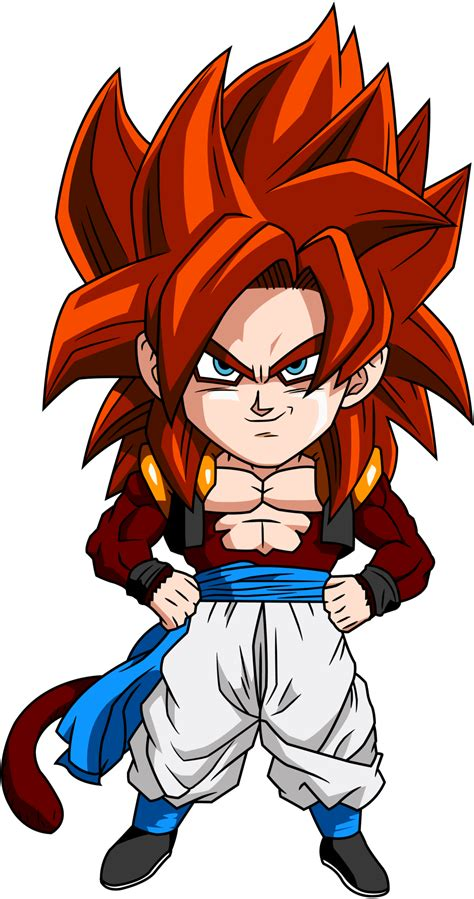 dragon ball z chibi wallpaper gogeta ssj4 wallpapers wallpaper cave