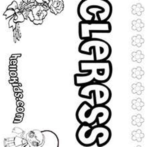 coloring pages of the name claire claire coloring pages hellokids com