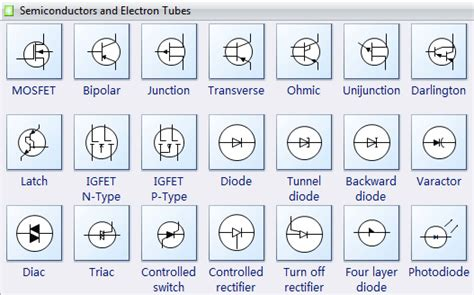 Kitchen Design Software For Mac by Semiconductor Symbols For Electrical Schematic Diagrams