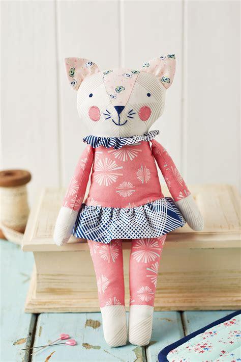 sleepy kitty  sewing patterns sew magazine